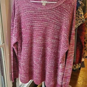Blushing pink sweater